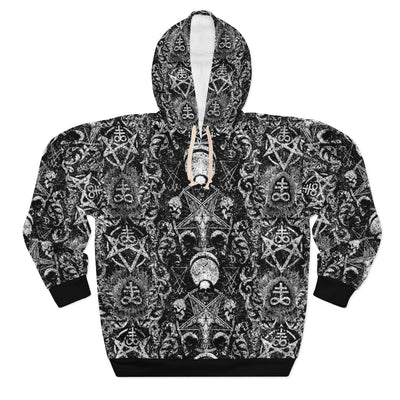 Distressed Occult Hoodie