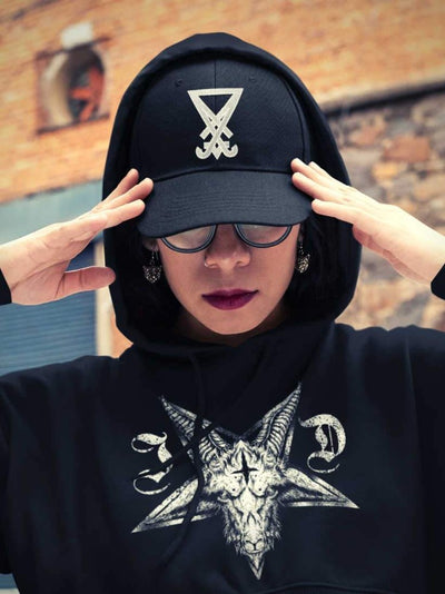 Luciferian Vintage Cotton Twill Cap