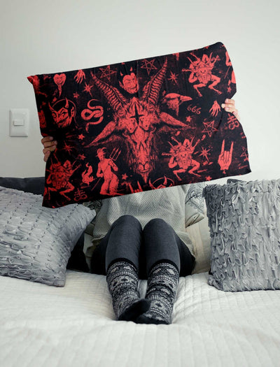 Baphomet Satan pillowcases