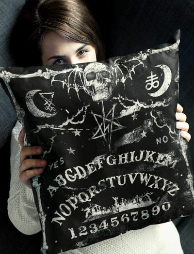 "Satan pillowcases - Ouija Pillow Cover 18"" x 18"""