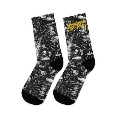 InteremoDeus Baphomet Socks