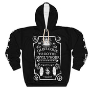 I came to do the devil's work Hoodie