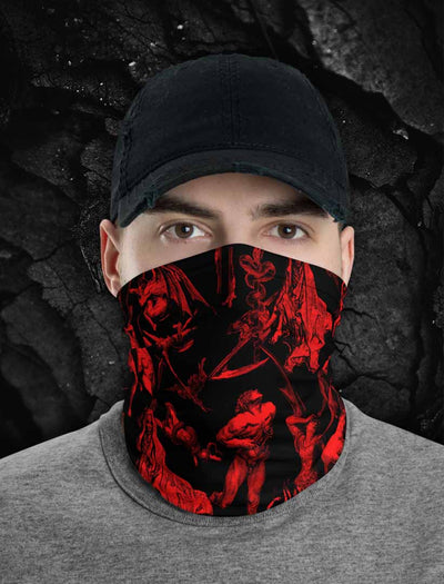 The Gates Of Hell Neck Gaiter