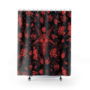 Legion of Demons Shower Curtains