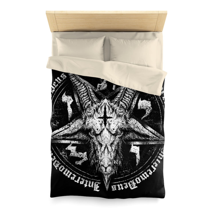 Gothic furniture | Sigil of Baphomet Duvet Cover