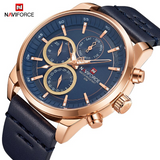 Original NAVIFORCE MENS 9148MBL Stainless Steel Mens Best Selling ANALOG DAY DATE Watch