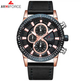 ORIGINAL ARMIFORCE GENTS LATEST CHRONOGRAPH WATCH AF-8003M-BG