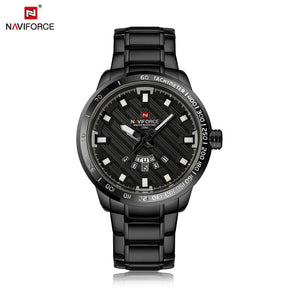 Original NAVIFORCE Mens Day Date Quartz NF-9090-B
