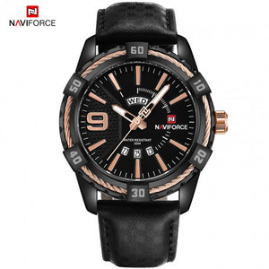 Original NAVIFORCE Mens Day Date Analog exclusive Quartz NF-9117M_G