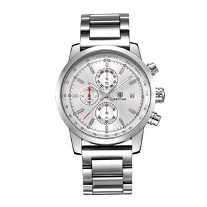 BENYAR CLASSIC CHRONOGRAPH MENS STEEL WATCH