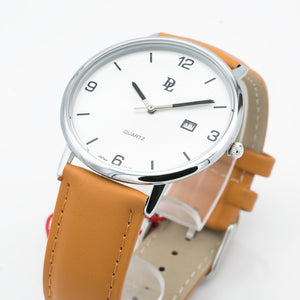 Original Delawrance ULTRA SLIM Mens Best Selling Classic Quartz Watch DL-235