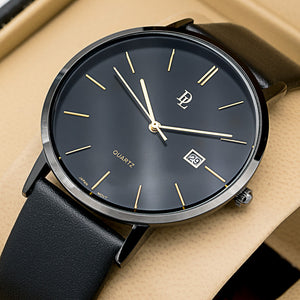 Original Delawrance ULTRA SLIM Mens Best Selling Classic Quartz Watch DL-203