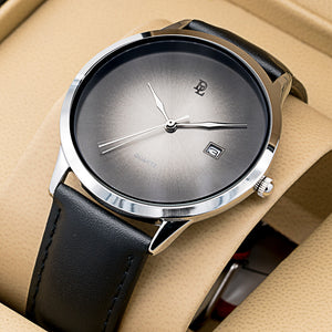 Original Delawrance ULTRA SLIM Mens Best Selling Classic Quartz Watch DL-220