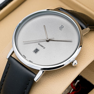 Original Delawrance ULTRA SLIM Mens Best Selling Classic DATE Quartz Watch DL-277