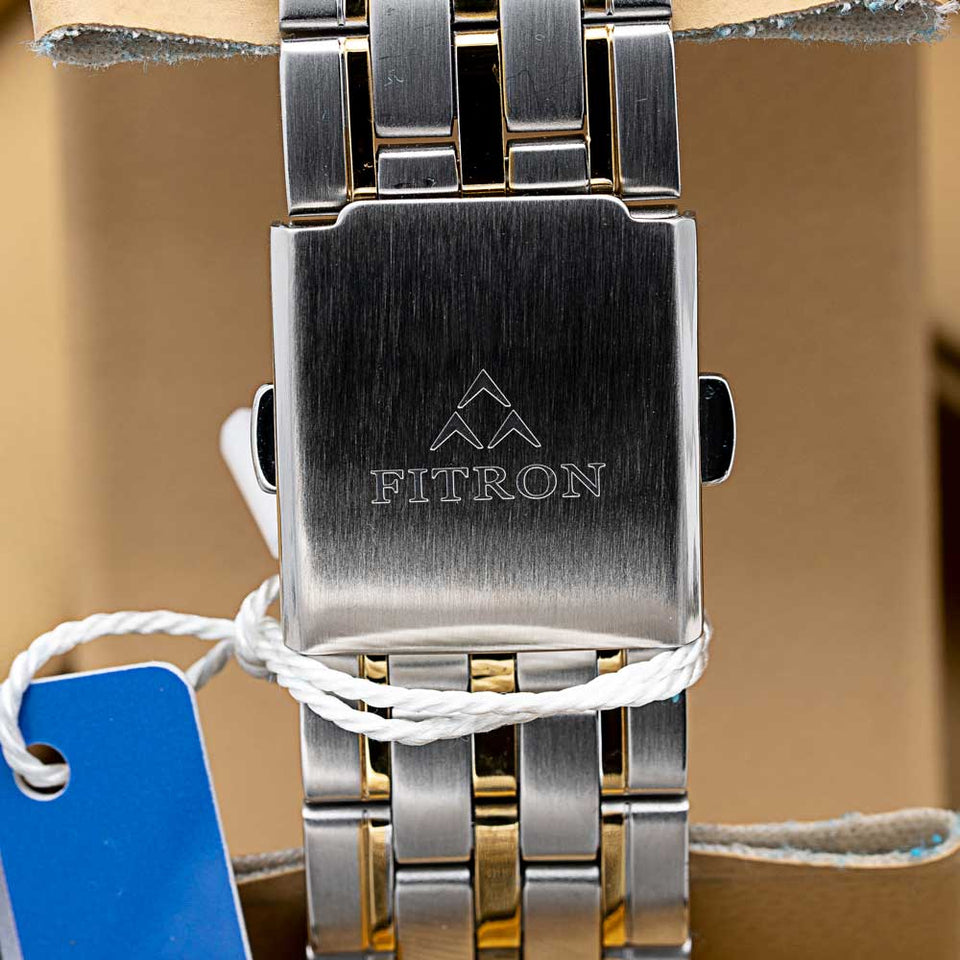FITRON Slim FT-213 Ultra High Quality Day Date Classic Watch with Japanese  Quartz Movement