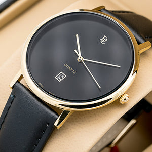 Original Delawrance ULTRA SLIM Mens Best Selling Classic Watch with Japanese Quartz movement  dl-207