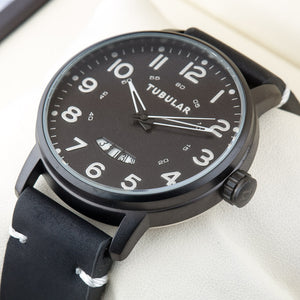 Original TUBULAR BRAND  Mens exclusive Pilot Quartz Watch TU-212