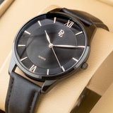 Original Delawrance ULTRA SLIM Mens Best Selling Classic Quartz Watch DL-213