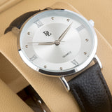 Original Delawrance ULTRA SLIM Mens Best Selling Classic Quartz Watch DL-223