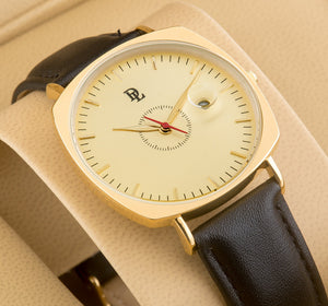 Original Delawrance ULTRA SLIM Mens Best Selling Classic Quartz Watch DL-231