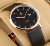 Original Delawrance ULTRA SLIM Mens Best Selling Classic Quartz Watch DL-232