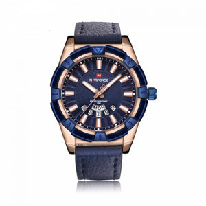 NAVIFORCE Mens Analog exclusive Blue/Gold Quartz NF-9118m_B