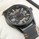 Original TUBULAR BRAND  Mens exclusive Pilot Quartz Watch TU-215