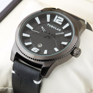 Original TUBULAR BRAND  Mens exclusive Pilot Quartz Watch TU-216