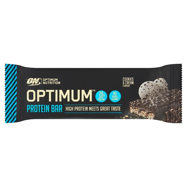 OPTIMUM Protein Bar Cookies & Cream