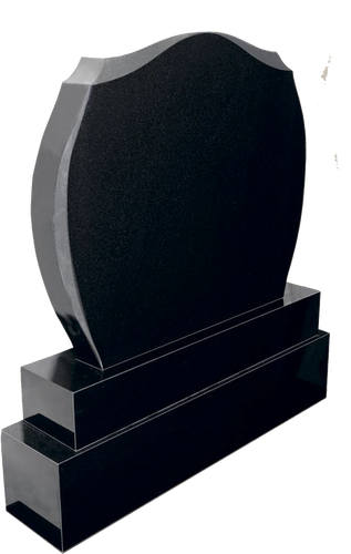 Black Granite Headstone