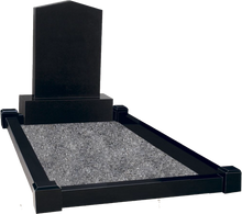 Load image into Gallery viewer, Apex Top Headstones with Grave Surround