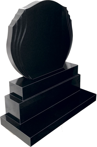 Double Flame Headstone - GM Ireland Provide Dublin Ireland