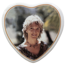 Load image into Gallery viewer, Ceramic Memorial Portrait - Heart
