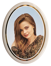 Load image into Gallery viewer, Ceramic Memorial Portrait - Oval