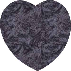 Heart Plaque - Blue Lagoon Granite