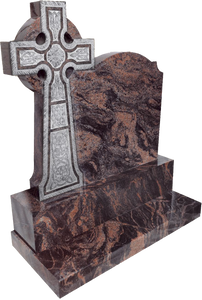 Boyne Celtic Cross - Carved