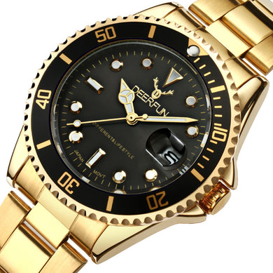 Gold Mens Watch