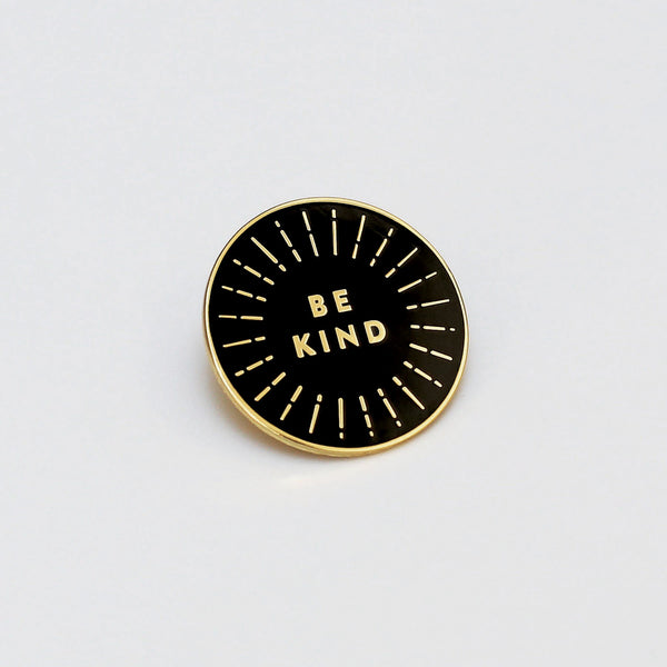'Be Kind' Enamel Pin