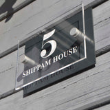 Shaped Acrylic House Signs
