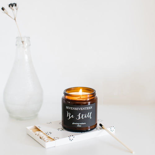 'Be Still' Glowing Embers Candle