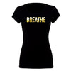 Gold 'Breathe' Short Sleeve fitted Tee