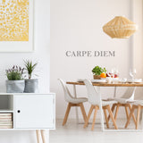 'Carpe Diem' Wall Sticker
