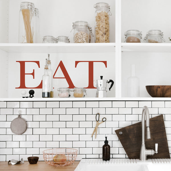 'EAT' Wall Sticker