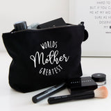 Worlds Greatest Mother make up bag