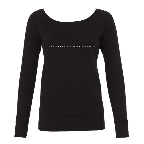 'Imperfection is Beauty' Slouchy Sweatshirt