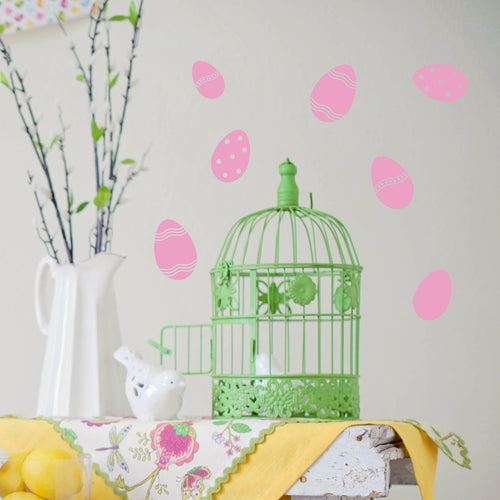 Mini Easter Egg wall Stickers