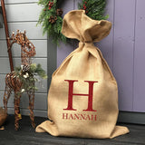 Personalised Monogram Christmas Sack