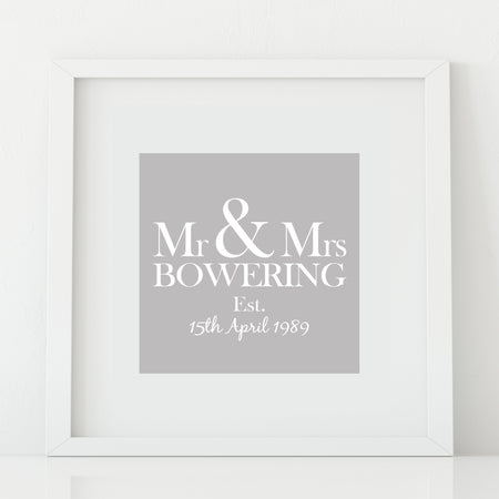 Personalised Monogram Wall Sticker