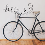 Music Notes Wall Sticker