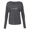 'Namaste' Long Sleeve Flowy Tee